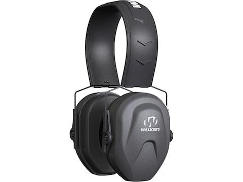 Walker's Razor Compact Youth & Women's Passive Earmuffs (NRR 23 dB) Black