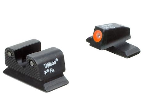 Trijicon HD Night Sight Set Beretta PX4 Storm Compact Steel Matte 3-Dot Tritium Green w...