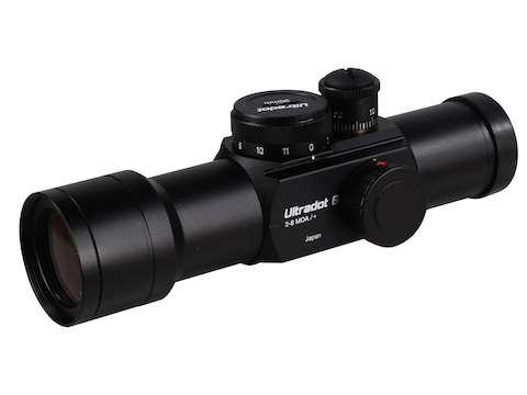 UltraDot Ultradot-6 Red Dot Sight 30mm Tube 1x 2, 4, 6, 8 MOA Dot 2-Pattern Reticle Matte