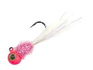 Jenko Fishing Kevin Rogers Warbird Hand Tied Jig Pink/Pink/White 1/16 oz