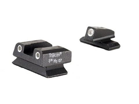 Trijicon Bright & Tough Night Sight Set Beretta PX4 Storm Steel Matte 3-Dot Tritium Green