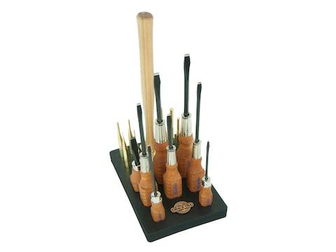 Grace USA 17-Piece Gun Care Tool Set with Bench Block