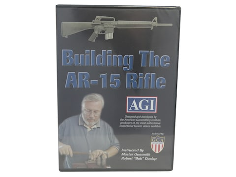 """American Gunsmithing Institute (AGI) Video """"How to Build an AR-15 from a Parts Kit"""" DVD"""