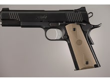 Hogue Rubber Grip Panels Palm Swell 1911 Government Commander Black