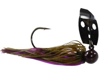 Picasso Aaron Martens Tungsten Knocker Shock Blade Bladed Jig Dark PB&J 3/8 oz
