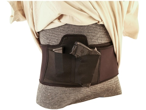 """Caldwell Tac Ops Belly Band Holster up to 40"""" Waist Nylon Black"""