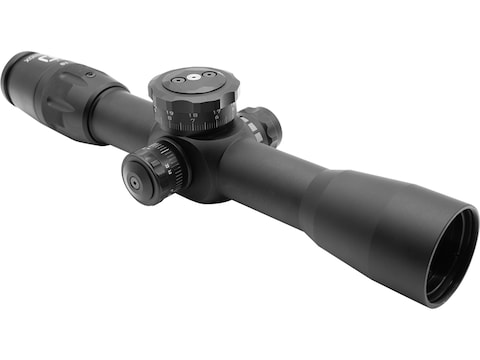 U.S. Optics FDN-10X Rifle Scope 34mm Tube 1.8-10x 40mm First Focal Side Focus ER3K Elev...