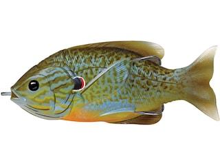 "LIVETARGET Sunfish Walking 3"" Topwater Natural/Blue Pumpkinseed"
