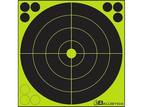 U.S. Ballistics Reactive Target Self-Adhesive Bullseye with Pasters
