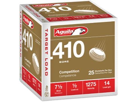 """Aguila Ammunition 410 Bore 2-1/2"""" 1/2 oz #7.5 Shot"""