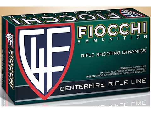 Fiocchi Shooting Dynamics Ammunition 6.5 Creedmoor 129 Grain Pointed Soft Point Box of 20