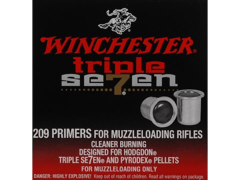 Winchester Triple Seven Primers #209 Muzzleloading Box of 100