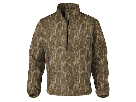 Browning Men's Wicked Wing Smoothbore 1/4 Zip Long Sleeve Shirt Polyester