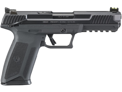 "Ruger 57 Pistol 5.7x28mm FN Semi-Automatic Pistol 4.94"" Barrel 20-Round"