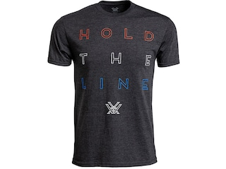 Vortex Optics Men's Hold the Line Short Sleeve T-Shirt Cotton/Poly Charcoal Heather Medium