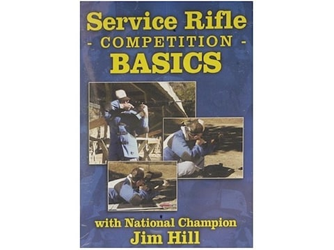 """Gun Video """"Service Rifle Competition Basics with Jim Hill"""" DVD"""