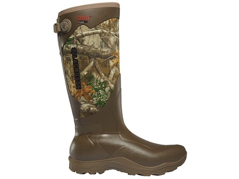 "LaCrosse Alpha Agility 17"" Waterproof 1200 Gram Insulated Hunting Boots Rubber/Neoprene..."