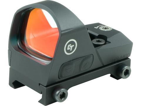 Crimson Trace Open Reflex Red Dot Sight Rifle & Shotgun 1x 3.25 MOA Dot with Picatinny ...