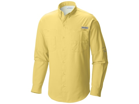 Columbia Men's PFG Tamiami II Button-Up Long Sleeve Shirt Polyester