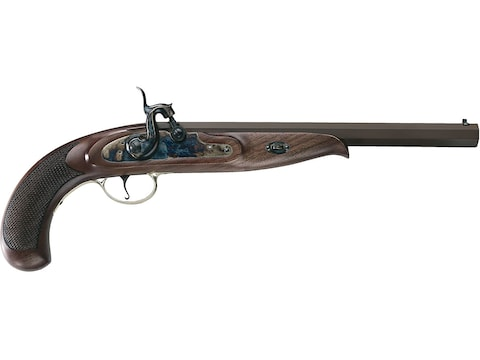 """Pedersoli Continental Duelling Muzzleloading Pistol 45 Caliber Percussion 11"""" Browned B..."""