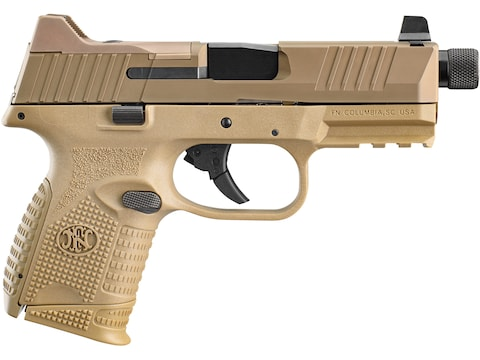 """FN 509 Compact Tactical 9mm Luger Semi-Automatic Pistol 4.32"""" Barrel 24-Round"""