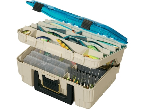 Plano Two-Tier Magnum Satchel Tackle Box System
