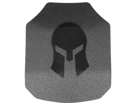 Spartan Armor AR550 Body Armor Stand Alone Ballistic Plate III+ Single Curve Set of 2