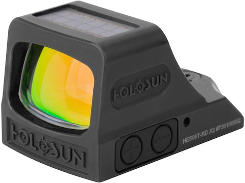 Holosun HE508T-X2 Elite Reflex Sight 1x Selectable Red Reticle Picatinny-Style Mount So...