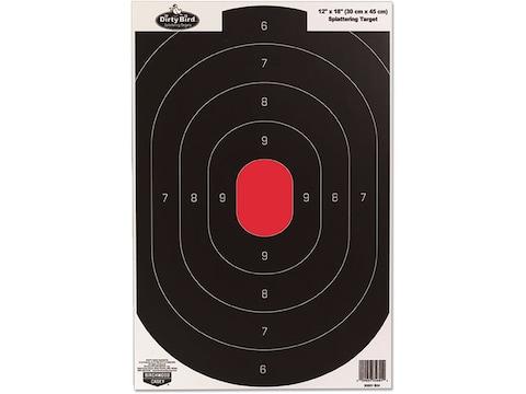 "Birchwood Casey Dirty Bird 12"" x 18"" Silhouette Targets Pack of 8"
