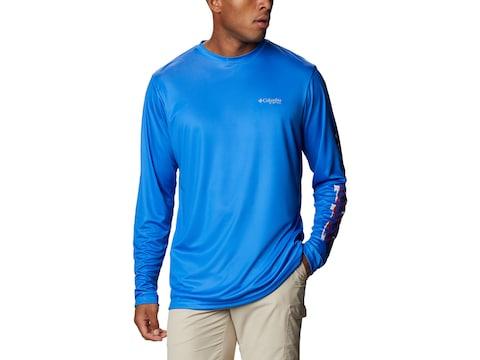 Columbia Men's PFG Terminal Tackle PFG Sleeve Long Sleeve Shirt