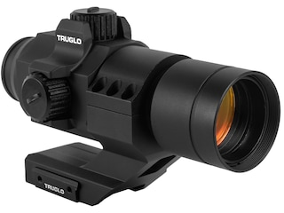 TRUGLO Ignite Red Dot Sight 1x 30mm 2 MOA Dot with Integral Weaver-Style Base Matte