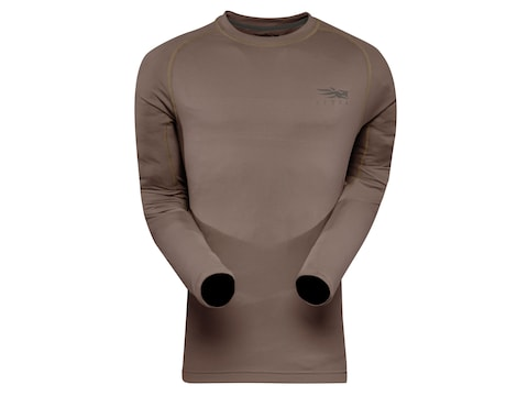 Sitka Gear Men's Core Lightweight Crew Long Sleeve Shirt Polyester