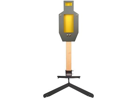 Challenge Targets Handgun IPSC A Zone Harmonic Target Steel with Static Stand