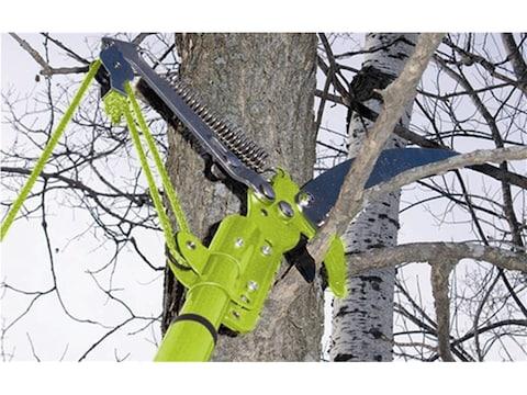 "HME Extendable 6' Pole Saw 12"" Carbon Steel Blade Foam Handle Green"