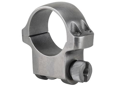 "Ruger 1"" Ring Mount 4K Silver Medium"