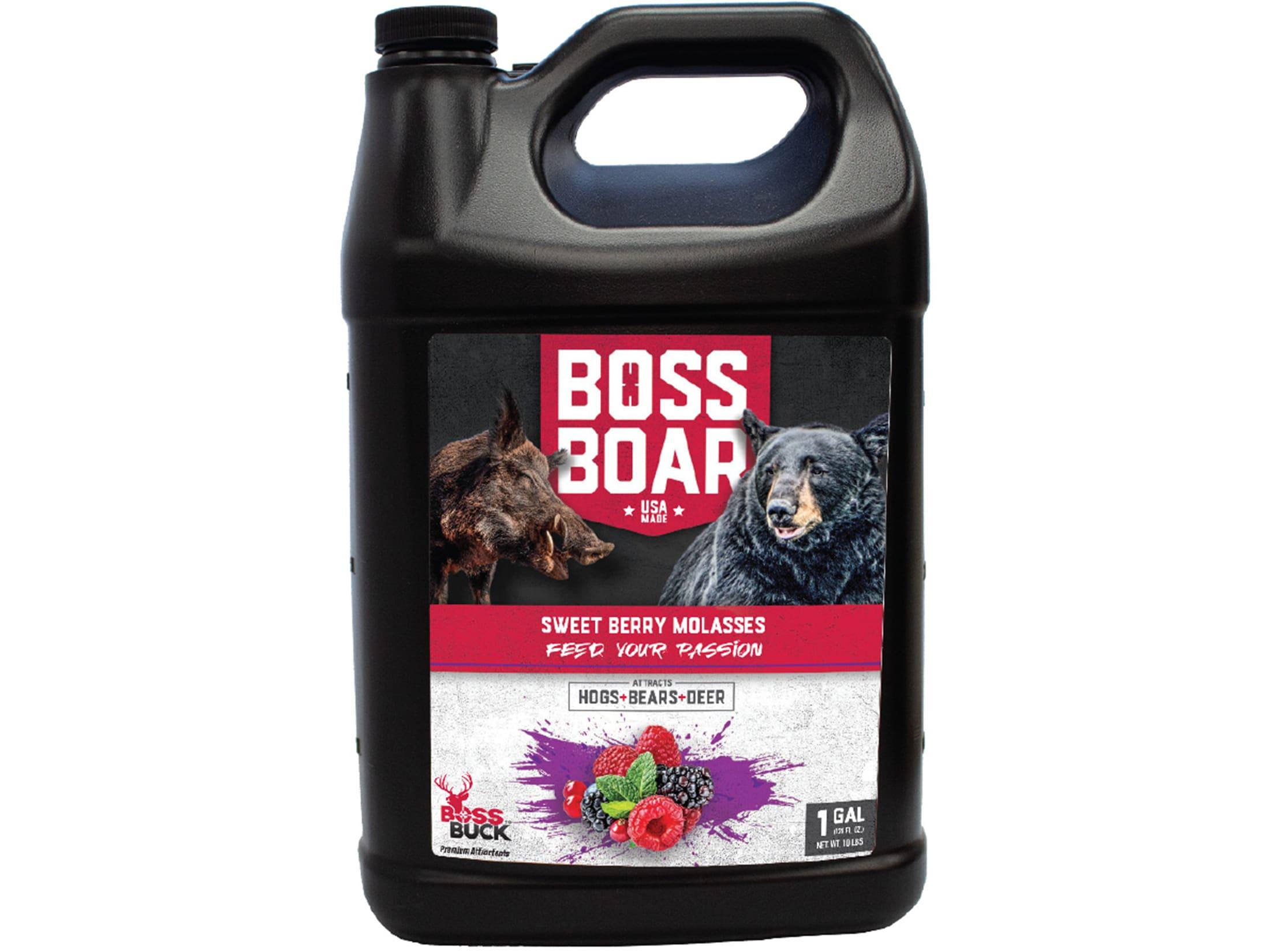 Boss Buck Boss Boar Sweet Berry Liquid Attractant 1 Gallon