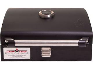 """Camp Chef Deluxe BBQ Grill Box Stove Accessory 14""""x16"""" Steel Black"""