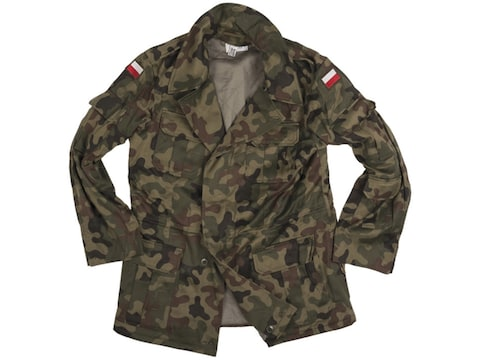 Military Surplus Polish M93 Field Jacket  Camo