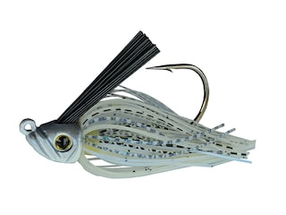 Picasso Swim Jig 30° Mustad Ultrapoint Hook Blue Glimmer Shad 1/4 oz