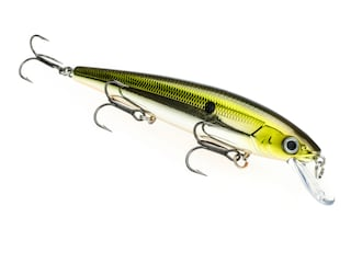 Strike King KVD Walleye Jerkbait 3 Hook Silver TN Shad