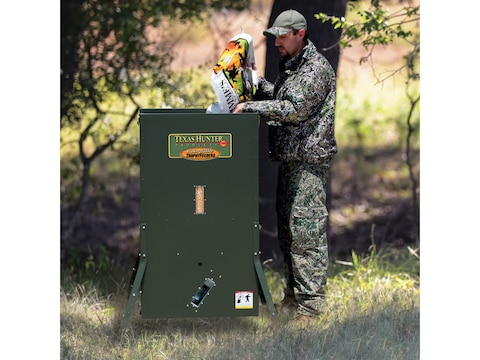 Texas Hunter Hide-A-Way Stand and Fill Deer Feeder