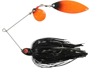 Northland Reed-Runner Classic Tandem Spinnerbait 1/4oz Blackbird Painted
