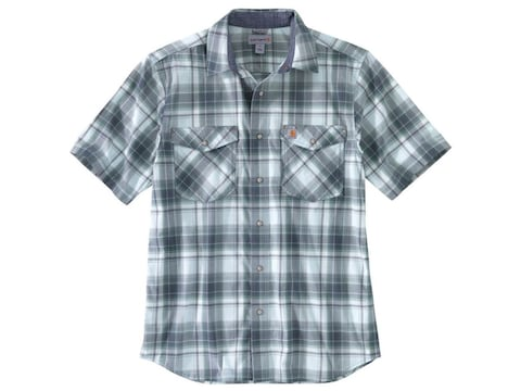Carhartt Men's Rugged Flex Lightweight Snap-Front Short Sleeve Shirt