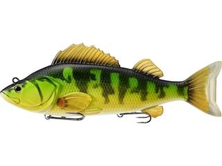 "LIVETARGET Yellow Perch 4.5"" Swimbait Yellow/Green"