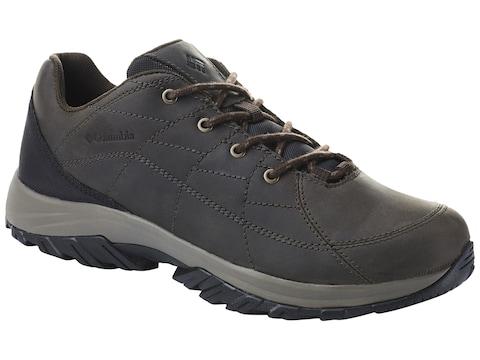 Columbia Crestwood Venture Hiking Shoes Full-Grain Leather Men's