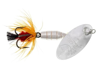 Panther Martin Deluxe Fly Inline Spinner Silver & Orange 1/16 oz