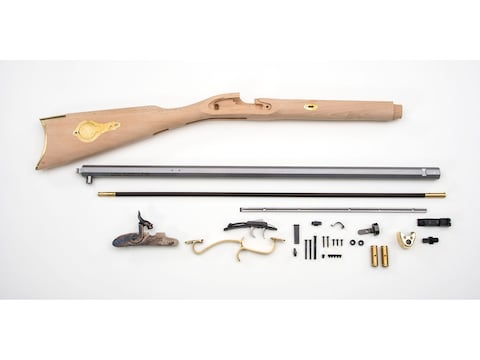 Traditions St. Louis Hawken Muzzleloading Rifle Unassembled Kit 50 Caliber Percussion 1...