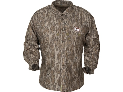 Banded Men's Lightweight Vented Button-Up Long Sleeve Shirt