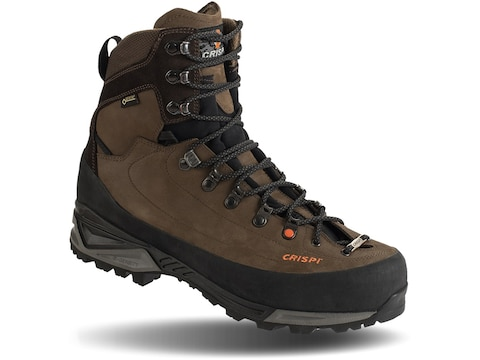 "Crispi Briksdal GTX 9"" Hunting Boots Leather Brown Men's"