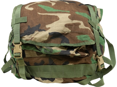 Military Surplus MOLLE II Standard Pack (Main Pack Only) Woodland Camo